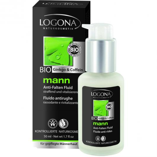 Fluide anti-rides Mann Logona, 50 ml