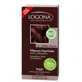 Colorante vegetal castaño café 092 Logona 100 gr