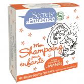 Champú sólido para niños Secrets de Provence 85 gr