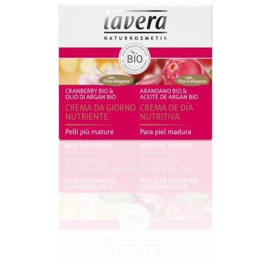 Crema día regeneradora con arándanos & aceite de argán Lavera 50 ml