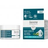 Crema notte anti-età Q10 jojoba e karité Bio Lavera 50 ml