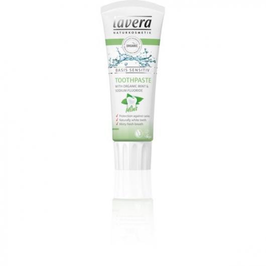 Dentifrice Menthe avec Fluor Lavera 75 ml
