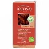 Tinta vegetal capilar em pó cor cobre intenso Logona, 100 g