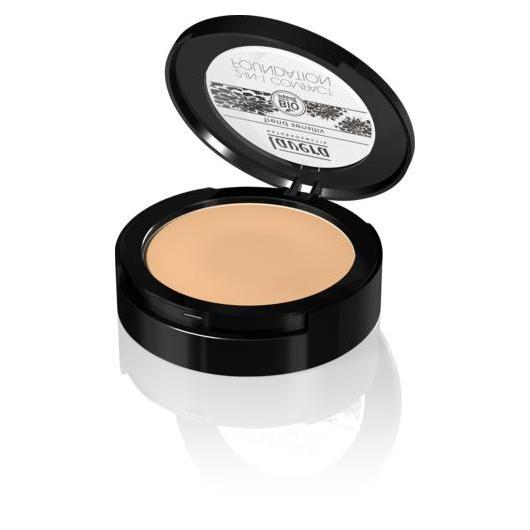 Maquillaje compacto 2 en 1  -  Honey 03 Lavera 10 g