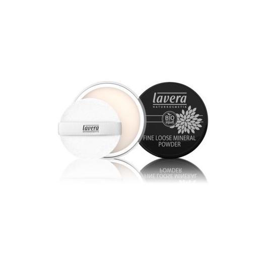 Maquillaje polvo mineral fino - transparente Lavera 8 g