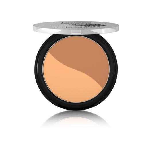 Fond de Teint Bronzant Duo - Golden Sahara 01 - Lavera 9 g