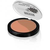 Fondotinta in polvere abbrozante bicolore - Sunset Kiss 02 Lavera 9 g