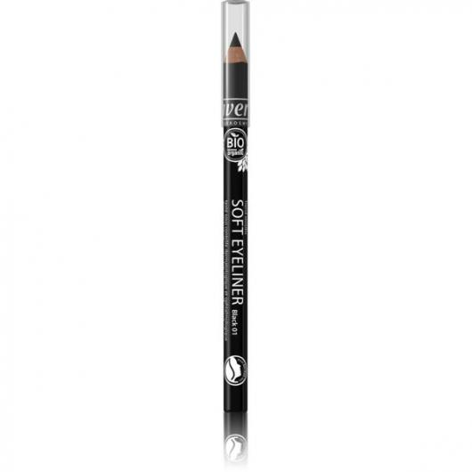 Eyeliner Soft kajal Black 01 Lavera, 1,14 g