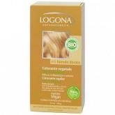 Tinta vegetal capilar em pó cor loira dourado Logona, 100 g
