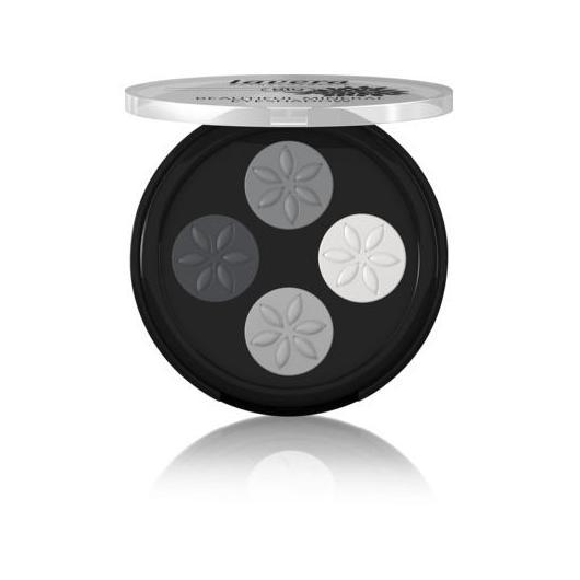 Quattro ombretti minerali Beautiful- Smokey Grey 01-Lavera 4 x 0,8 g
