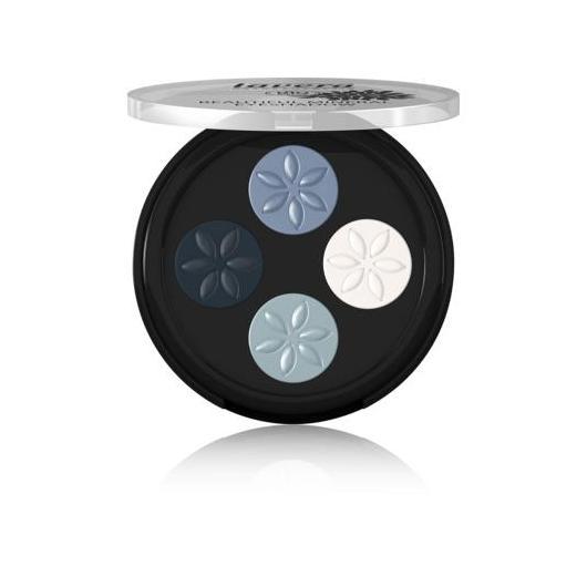Quattro ombretti minerali Beautiful - Blue Platinum 07- Lavera 3.2 g