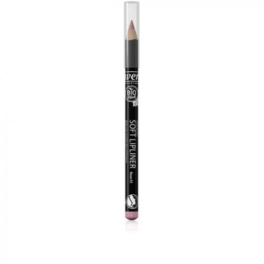 Crayon à Lèvres - Rose 01 - Lavera 1,14 g