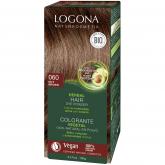Tinta vegetal capilar em pó cor avelã Logona, 100 g