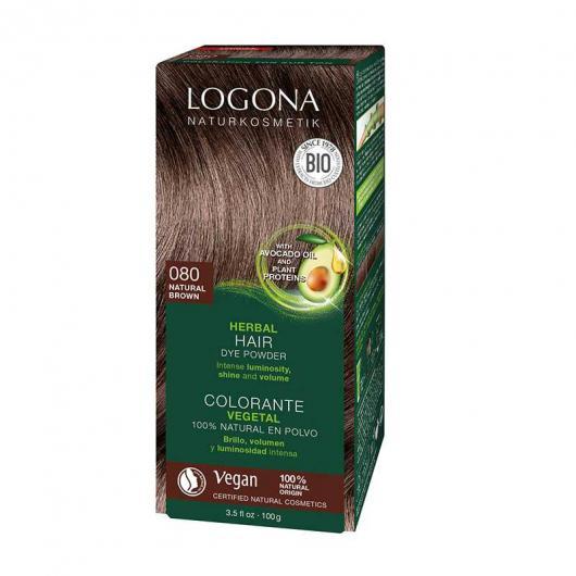 Tinte vegetal en Polvo Castaño Dorado Logona, 100g