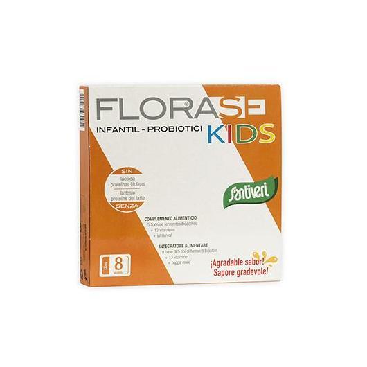 Florase Kids Santiveri, 8 fioles