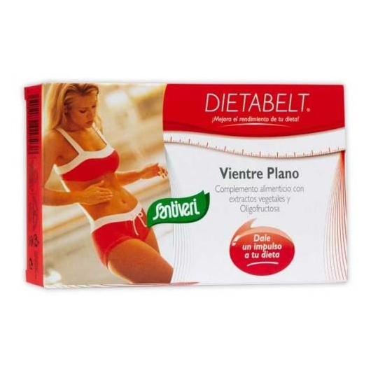 Dietabelt Ventre Piatto Santiveri, 60 capsule