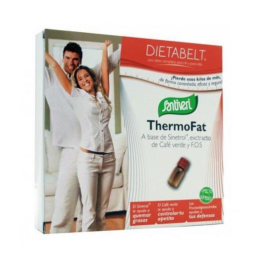 Dietabelt Thermofat Santiveri, 10 viales