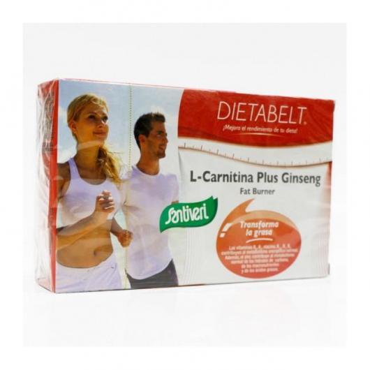 Dietabelt L-Carnitina líquida 1500 Santiveri, 10 viales