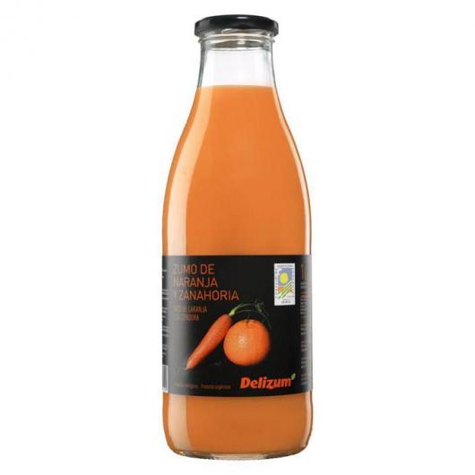 Jus de Carotte et Orange Ecologique Delzium 1 Litre