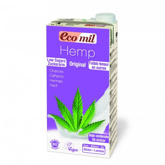 Leche de Cáñamo agave bio EcoMil 1L