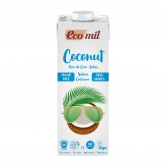 Ecomil sugar-free coconut calcium drink 1ltr