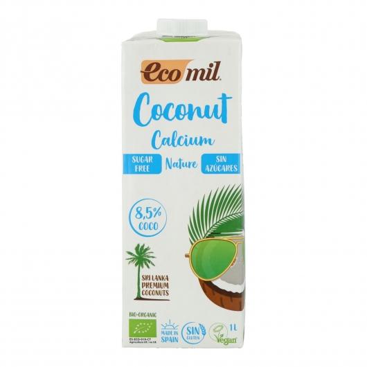 Bebida de Coco Calcio sin azúcar Ecomil 1 L