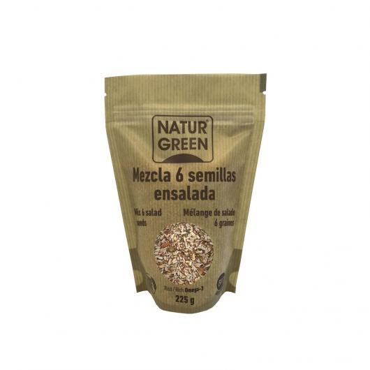 Mélange 6 Graines pour Salades Naturagreen, 375 g