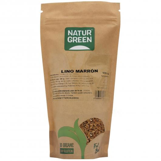 Lino Marrón Naturgreen