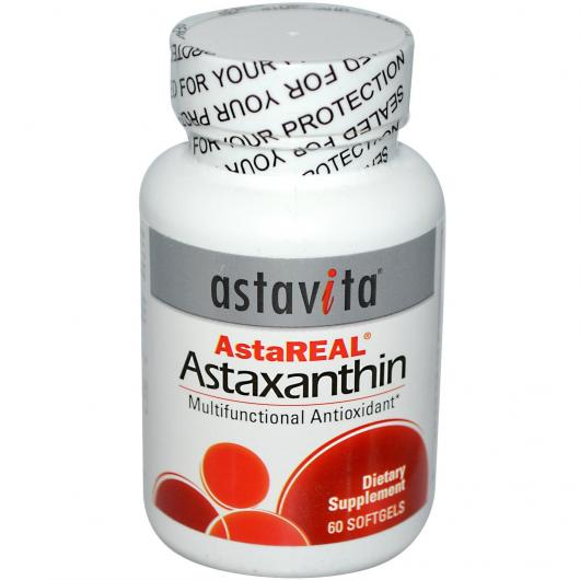 Astaxanthine 4 mg AstaReal, 60 perles