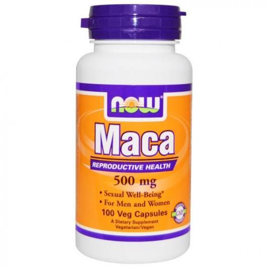 Maca andina 500 mg Now Foods, 100 capsule