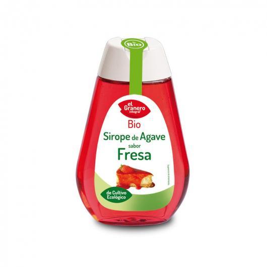 Sirop d'Agave Saveur Fraise El Granero Integral 200 g