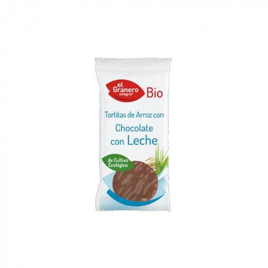Tortitas de Arroz con Chocolate con Leche El Granero Integral 100 g