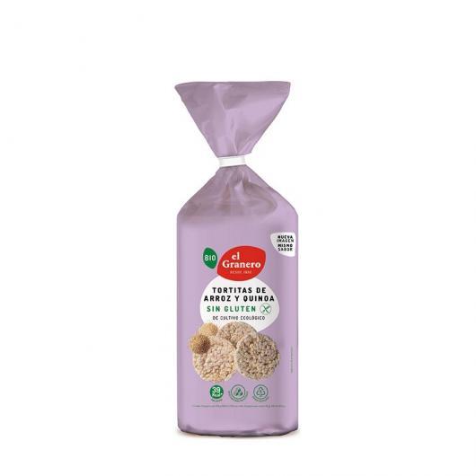 Tortitas de Arroz y Quinoa El Granero Integral 100 g