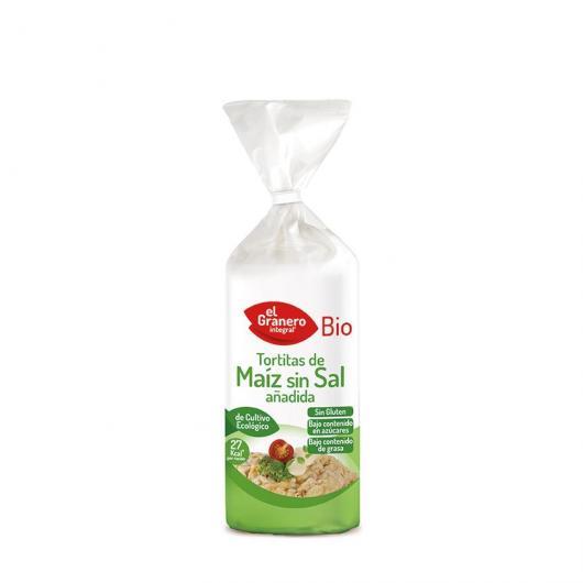 Frittelle di Mais senza Sale El Granero Integral 120 g