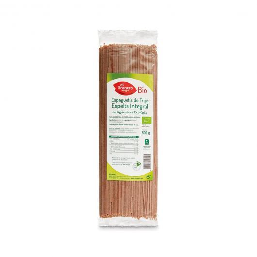 Espagueti de Espelta integral El Granero Integral 500 g