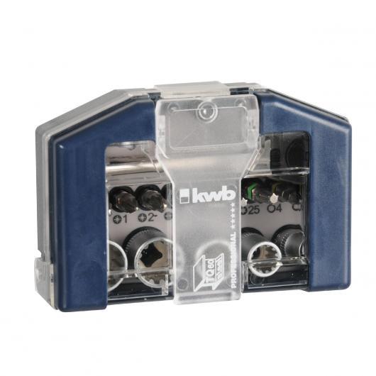 Bit-Box con llaves de vaso y carraca Kwb