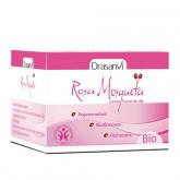 Crème de jours visage Bio Rose musquée Drasanvi, 50 ml