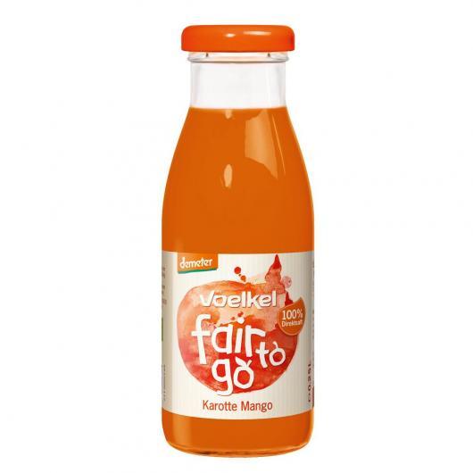 Zumo bio de Zanahoria y Mango Voelkel 250 ml