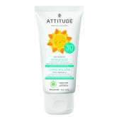 Crema Solar mineral Sin Perfume FPS 30 Attitude 75 g