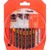 Set di lame per sega high quality Kwb