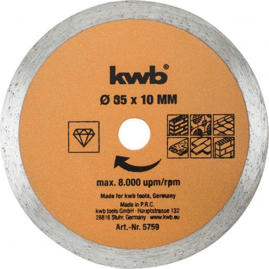 kit de Mini Lames pour Scie Circulaire Kwb