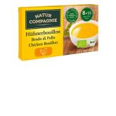 Cubetti di brodo di pollo Natur Compagnie, 8x11 gr
