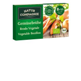 Caldo de Verduras cubitos Natur Compagnie, 8x11 gr