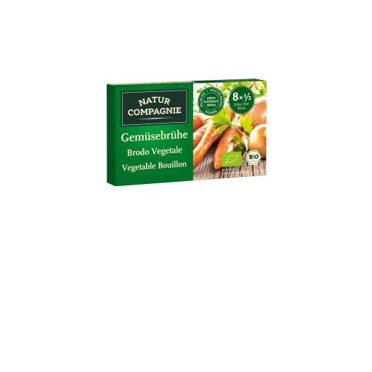 Bouillon de légumes dés Natur Compagnie, 8 x 11 gr