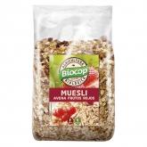 Muesli Avena Frutti Rossi Biocop, 300 g