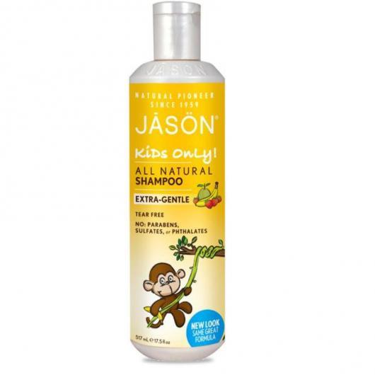 Champú extra suave Kids Only Jason, 517 ml