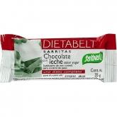 Barrette al cioccolato al latte con sapore yogurt Santiveri
