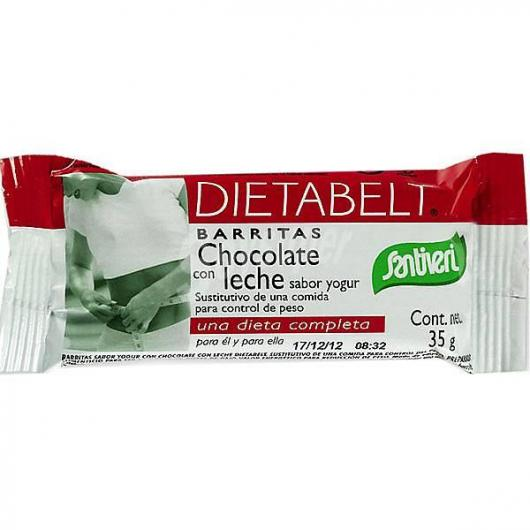 Barritas sabor yogur, chocolate leche Santiveri