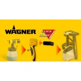 Adattatore Click&Paint per frontali Wood&Metal Wagner
