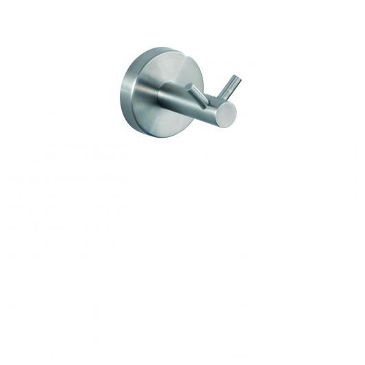 Gangio appendibile doppio, Bosio, opaco in acciaio